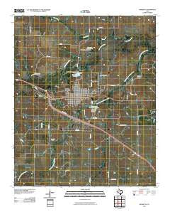 Henrietta Texas Historical topographic map, 1:24000 scale, 7.5 X 7.5 Minute, Year 2010