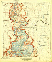 Highlands Texas Historical topographic map, 1:31680 scale, 7.5 X 7.5 Minute, Year 1920