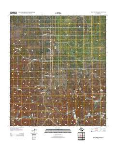 Hillcrest Ranch Texas Historical topographic map, 1:24000 scale, 7.5 X 7.5 Minute, Year 2012