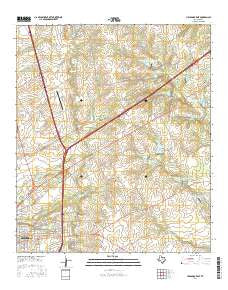 Hillsboro East Texas Current topographic map, 1:24000 scale, 7.5 X 7.5 Minute, Year 2016