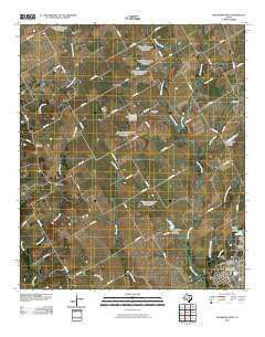 Hillsboro West Texas Historical topographic map, 1:24000 scale, 7.5 X 7.5 Minute, Year 2010