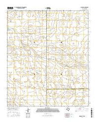 Hobbs SE Texas Current topographic map, 1:24000 scale, 7.5 X 7.5 Minute, Year 2016