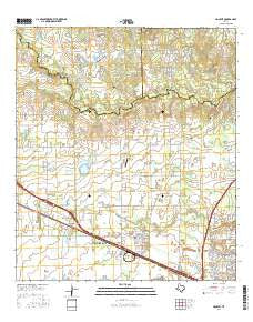 Hockley Texas Current topographic map, 1:24000 scale, 7.5 X 7.5 Minute, Year 2016