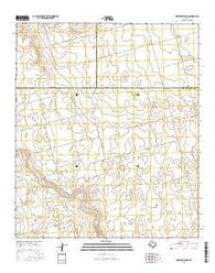 Houston Ranch Texas Current topographic map, 1:24000 scale, 7.5 X 7.5 Minute, Year 2016
