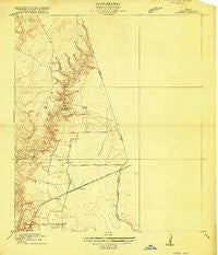 Huffman Texas Historical topographic map, 1:24000 scale, 7.5 X 7.5 Minute, Year 1916