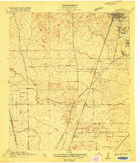 Humble Texas Historical topographic map, 1:24000 scale, 7.5 X 7.5 Minute, Year 1916