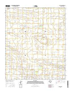 Ink Basin Texas Current topographic map, 1:24000 scale, 7.5 X 7.5 Minute, Year 2016
