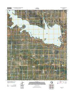 Ira SW Texas Historical topographic map, 1:24000 scale, 7.5 X 7.5 Minute, Year 2012