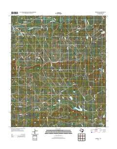 Iredell Texas Historical topographic map, 1:24000 scale, 7.5 X 7.5 Minute, Year 2012