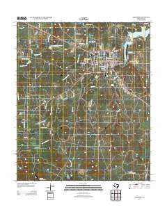 Jacksboro Texas Historical topographic map, 1:24000 scale, 7.5 X 7.5 Minute, Year 2012