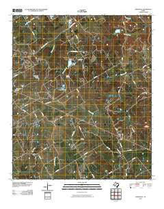Johnsville Texas Historical topographic map, 1:24000 scale, 7.5 X 7.5 Minute, Year 2010