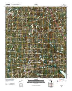 Keene Texas Historical topographic map, 1:24000 scale, 7.5 X 7.5 Minute, Year 2010
