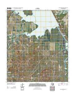 Knickerbocker Texas Historical topographic map, 1:24000 scale, 7.5 X 7.5 Minute, Year 2012