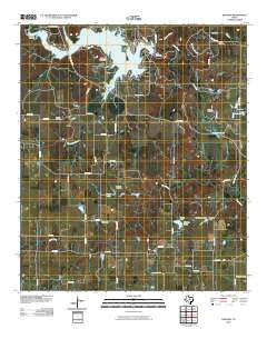 Kokomo Texas Historical topographic map, 1:24000 scale, 7.5 X 7.5 Minute, Year 2010