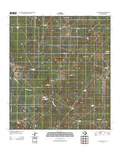 La Chusa Hill Texas Historical topographic map, 1:24000 scale, 7.5 X 7.5 Minute, Year 2012
