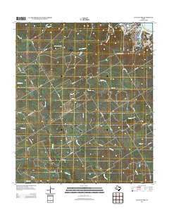 Laguna Park Texas Historical topographic map, 1:24000 scale, 7.5 X 7.5 Minute, Year 2012