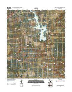 Lake Colorado City Texas Historical topographic map, 1:24000 scale, 7.5 X 7.5 Minute, Year 2012
