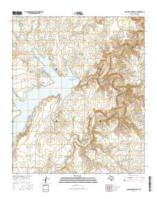 Lake Stamford East Texas Current topographic map, 1:24000 scale, 7.5 X 7.5 Minute, Year 2016