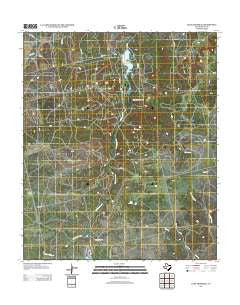 Lake Trammell Texas Historical topographic map, 1:24000 scale, 7.5 X 7.5 Minute, Year 2012