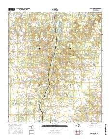 Lake Trammell Texas Current topographic map, 1:24000 scale, 7.5 X 7.5 Minute, Year 2016