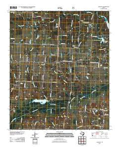 Lamasco Texas Historical topographic map, 1:24000 scale, 7.5 X 7.5 Minute, Year 2010