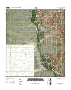 Las Conchas Texas Historical topographic map, 1:24000 scale, 7.5 X 7.5 Minute, Year 2012