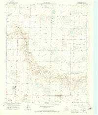Lazbuddie Texas Historical topographic map, 1:24000 scale, 7.5 X 7.5 Minute, Year 1963