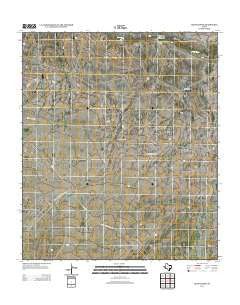 Ligon Ranch Texas Historical topographic map, 1:24000 scale, 7.5 X 7.5 Minute, Year 2012