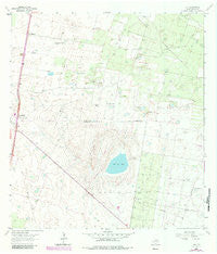Linn Texas Historical topographic map, 1:24000 scale, 7.5 X 7.5 Minute, Year 1963