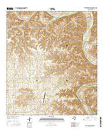 Little Fielder Draw Texas Current topographic map, 1:24000 scale, 7.5 X 7.5 Minute, Year 2016 from Texas Map Store