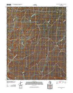 Little Indian Creek Texas Historical topographic map, 1:24000 scale, 7.5 X 7.5 Minute, Year 2010