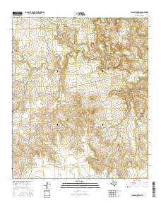 Lloyd Mountain Texas Current topographic map, 1:24000 scale, 7.5 X 7.5 Minute, Year 2016