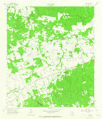 Loma Texas Historical topographic map, 1:24000 scale, 7.5 X 7.5 Minute, Year 1963