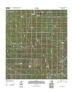 Loma Alta NE Texas Historical topographic map, 1:24000 scale, 7.5 X 7.5 Minute, Year 2013