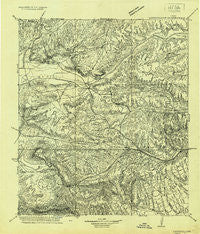 Longfellow Texas Historical topographic map, 1:125000 scale, 30 X 30 Minute, Year 1920