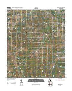 Longworth Texas Historical topographic map, 1:24000 scale, 7.5 X 7.5 Minute, Year 2012