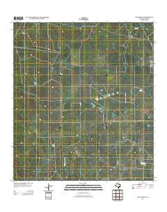 Los Angeles Texas Historical topographic map, 1:24000 scale, 7.5 X 7.5 Minute, Year 2013