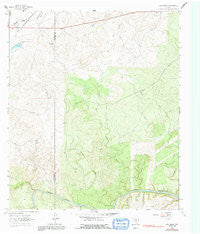 Lost Creek Texas Historical topographic map, 1:24000 scale, 7.5 X 7.5 Minute, Year 1963