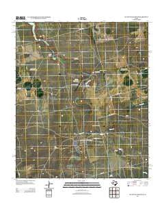 Lucian Wells Ranch Texas Historical topographic map, 1:24000 scale, 7.5 X 7.5 Minute, Year 2012