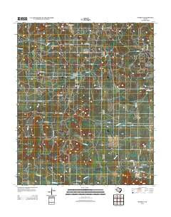 Markley Texas Historical topographic map, 1:24000 scale, 7.5 X 7.5 Minute, Year 2012