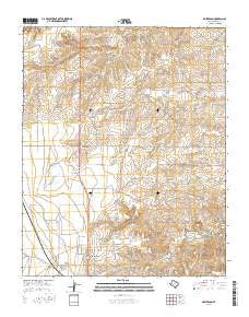 Masterson Texas Current topographic map, 1:24000 scale, 7.5 X 7.5 Minute, Year 2016