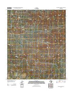 Maverick Creek Texas Historical topographic map, 1:24000 scale, 7.5 X 7.5 Minute, Year 2012