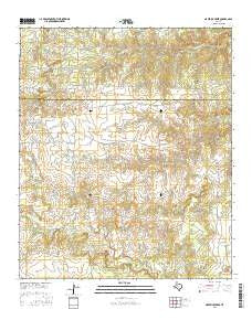 Maverick Creek Texas Current topographic map, 1:24000 scale, 7.5 X 7.5 Minute, Year 2016