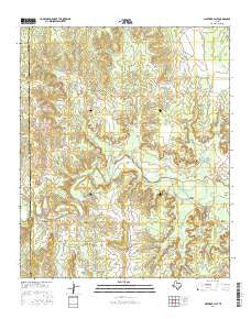 Maverick Flat Texas Current topographic map, 1:24000 scale, 7.5 X 7.5 Minute, Year 2016
