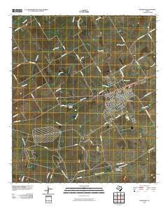 McGregor Texas Historical topographic map, 1:24000 scale, 7.5 X 7.5 Minute, Year 2010