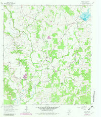 McMahan Texas Historical topographic map, 1:24000 scale, 7.5 X 7.5 Minute, Year 1963