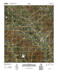Meridian Texas Historical topographic map, 1:24000 scale, 7.5 X 7.5 Minute, Year 2010
