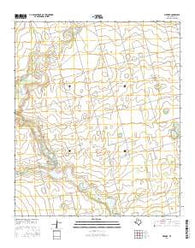 Merrick Texas Current topographic map, 1:24000 scale, 7.5 X 7.5 Minute, Year 2016