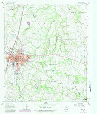 Mexia Texas Historical topographic map, 1:24000 scale, 7.5 X 7.5 Minute, Year 1963