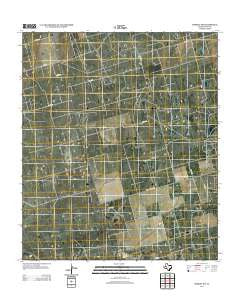 Midkiff SW Texas Historical topographic map, 1:24000 scale, 7.5 X 7.5 Minute, Year 2012